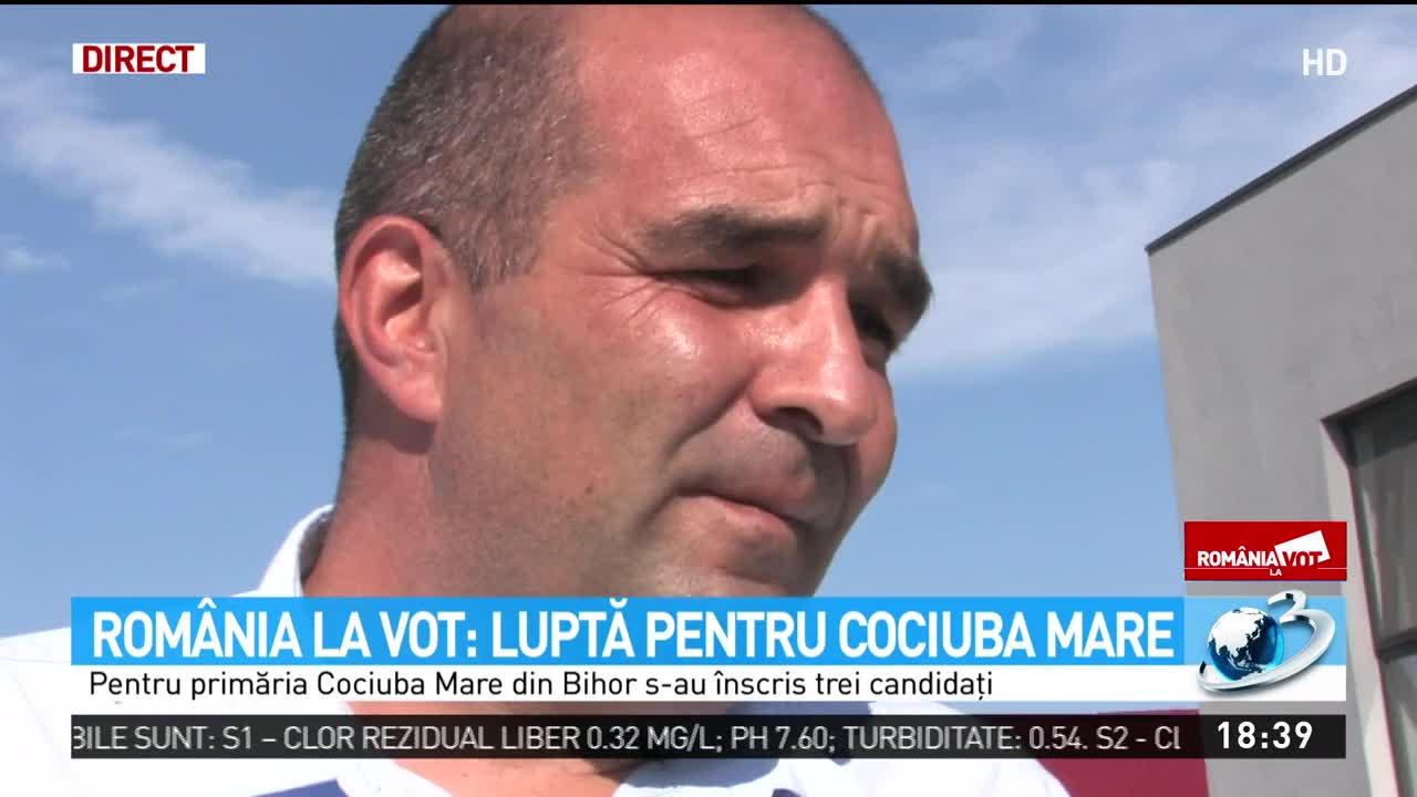 România la vot: Luptă pentru Cociuba Mare