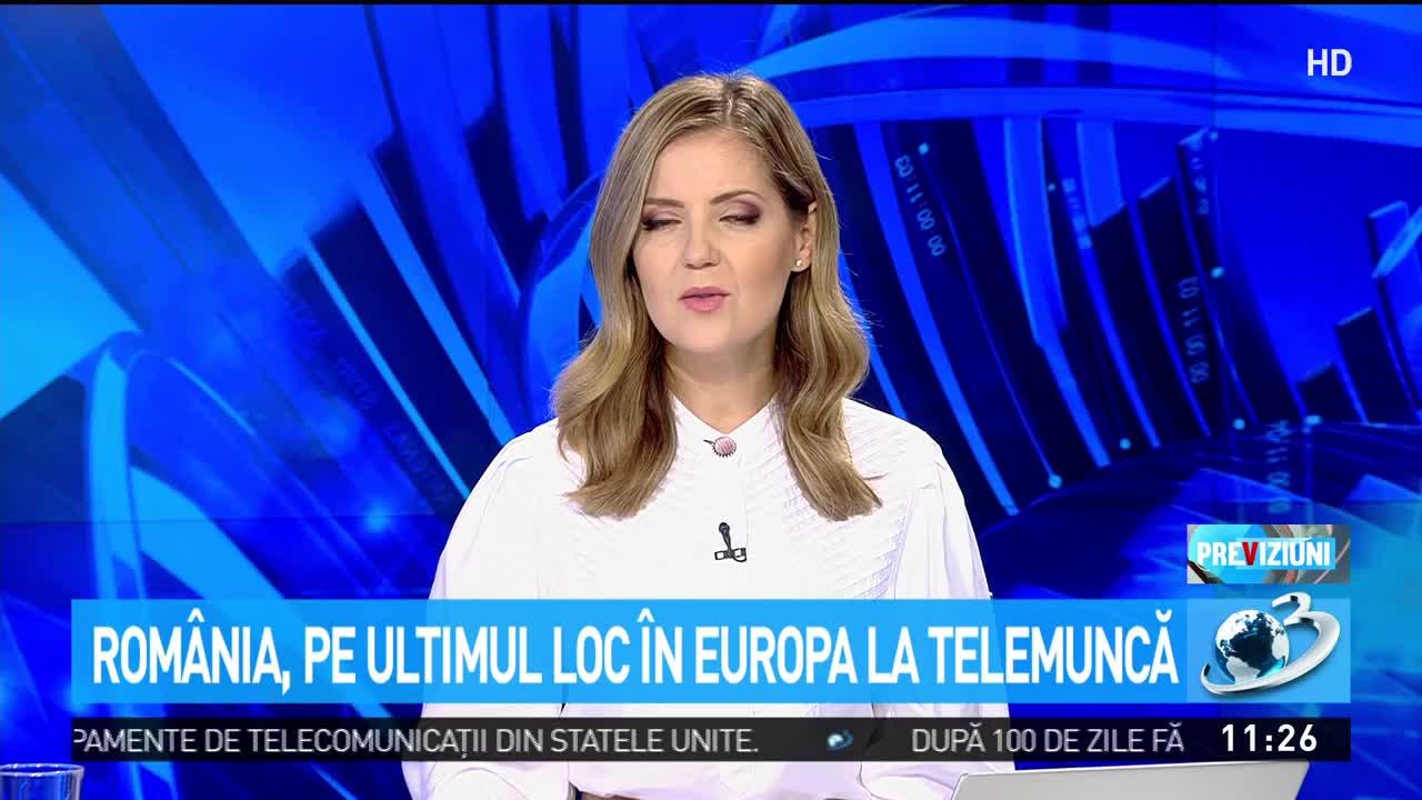 România, pe ultimul loc în Europa la telemuncă