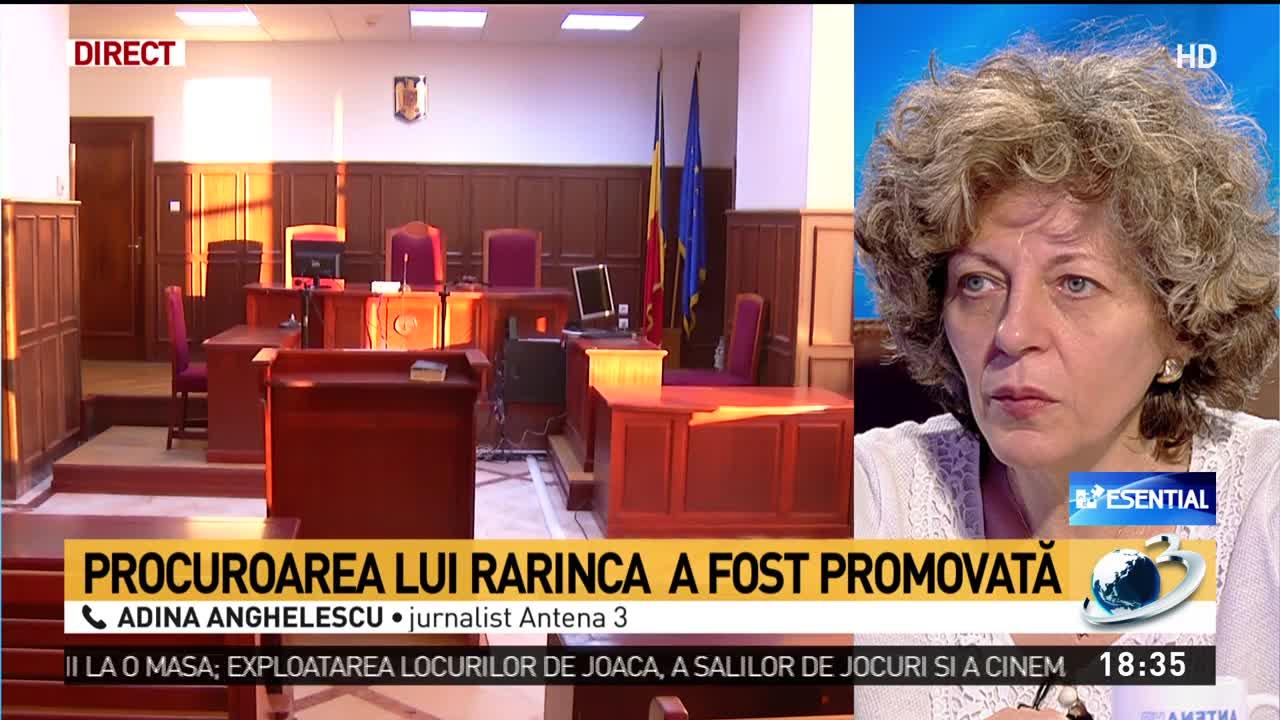 Procuroarea lui Rarinca a fost promovată