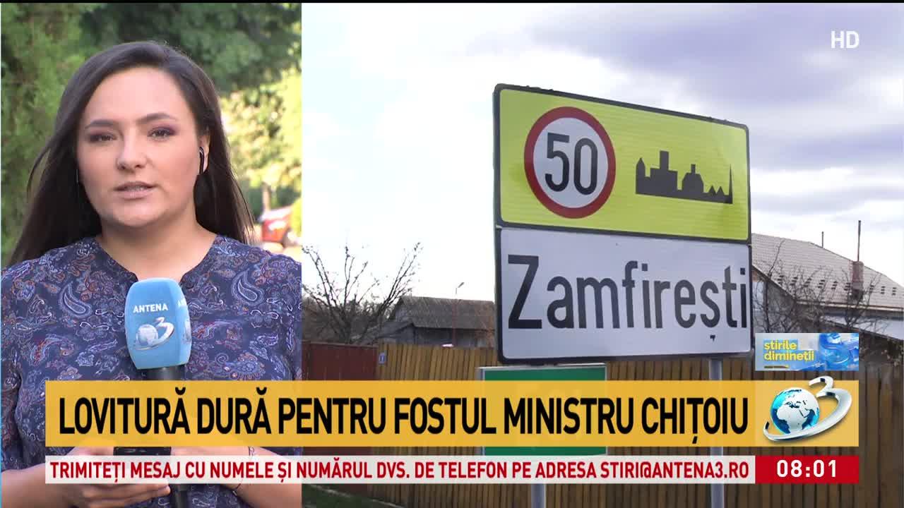 Lovitură dură pentru fostul ministrul, Daniel Chițoiu. Ce au decis procurorii
