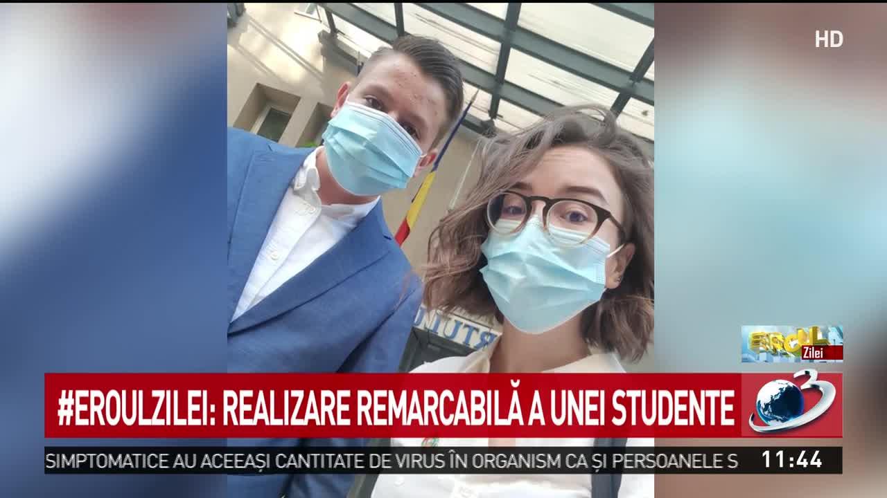 Tânăra care reprezintă România la ONU