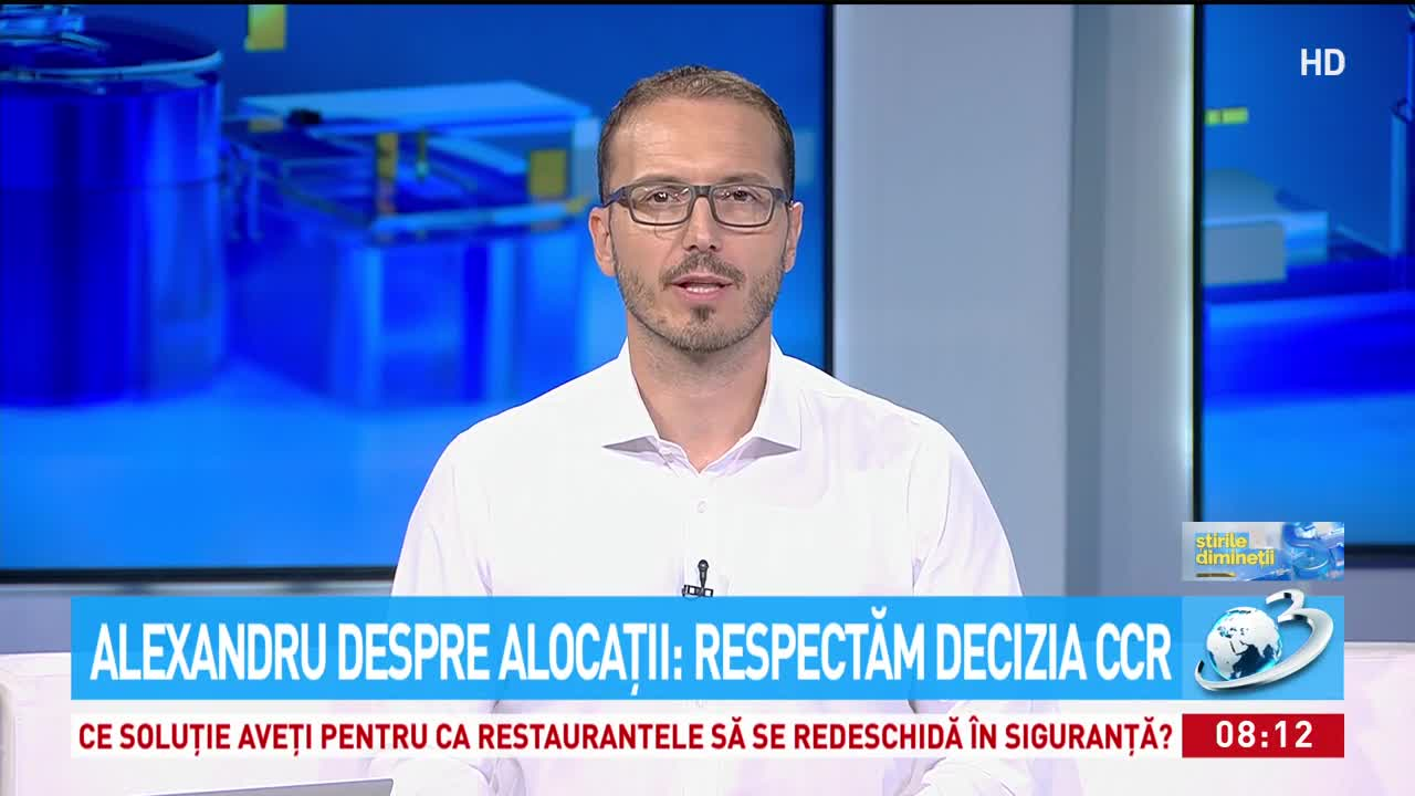 Alexandru despre alocații: Respectăm decizia CCR