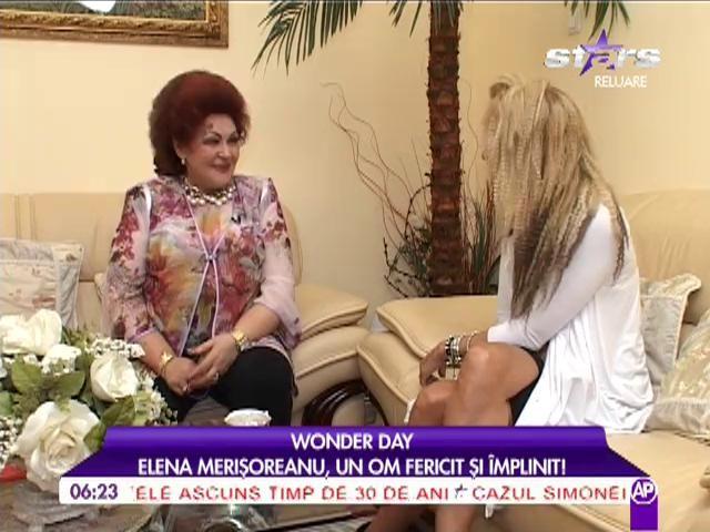 """Elena Merișoreanu: """"Averea mea sunt copiii și nepoții"""""""