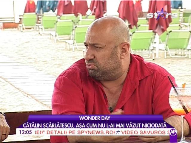 """Cătălin Scărlătescu: """"Primul meu job a fost spălător de vase"""""""