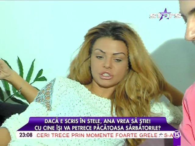 """Ana Mocanu, în depresie de sărbători din cauza singurătăţii: """"Vreau un bărbat"""""""