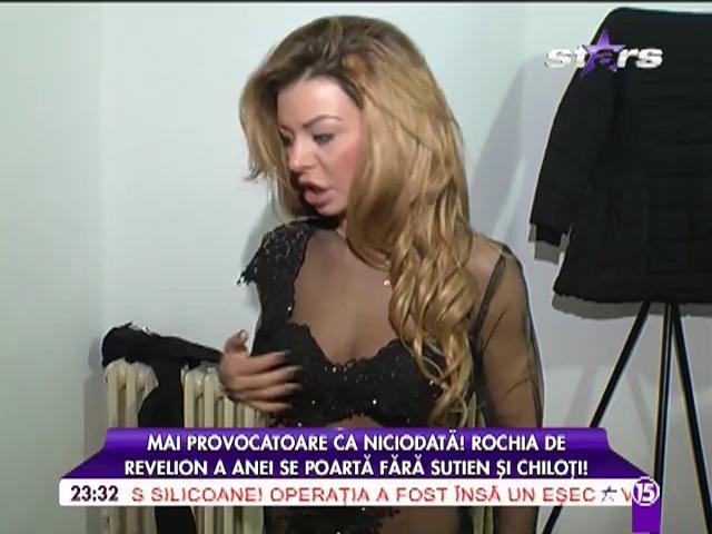 """Rochia Anei Mocanu pentru Revelion este """"păcătoasă"""": """"Nu o să port chiloți"""""""