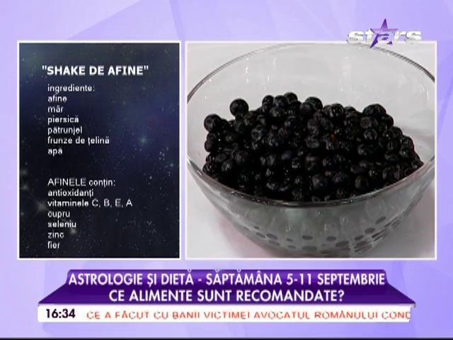 Astrologie și dietă - săptămâna 5-11 septembrie. Ce alimente sunt recomandate