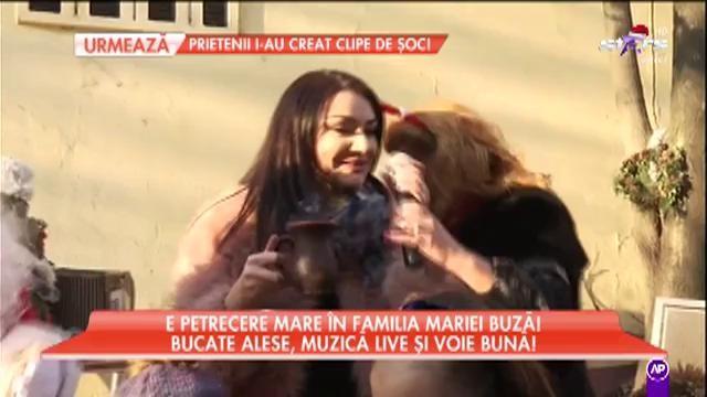 Petrecere mare în familia Mariei Buză. Bucate alese, muzică live și voie bună