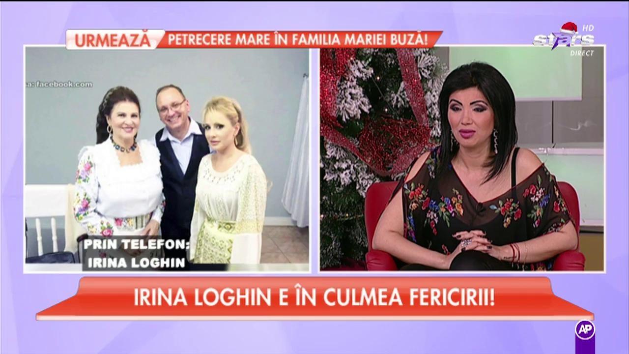 """Irina Loghin nu se pregătește să devină soacră mică: """"Este o glumă, Irinuca nu se mărită!"""""""