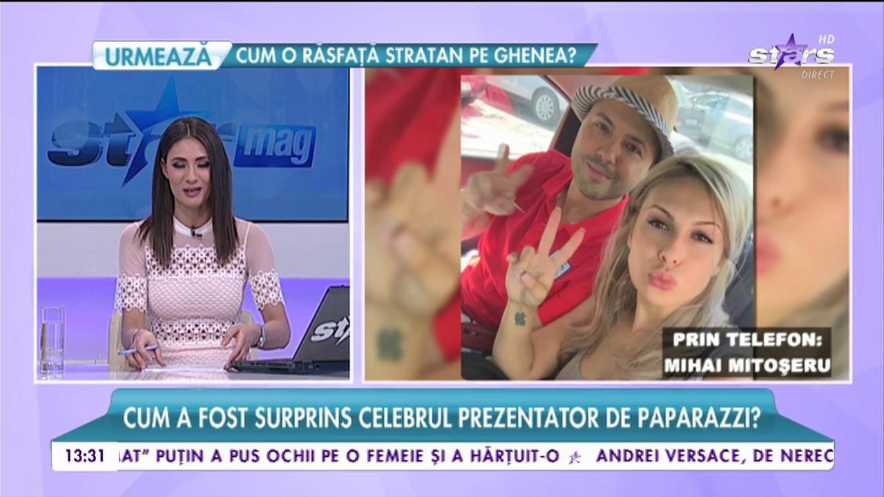 """Mihai Mitoșeru nu se mai poate ascunde! În ce ipostază a fost surprins prezentatorul de la """"Uniplay Show"""""""