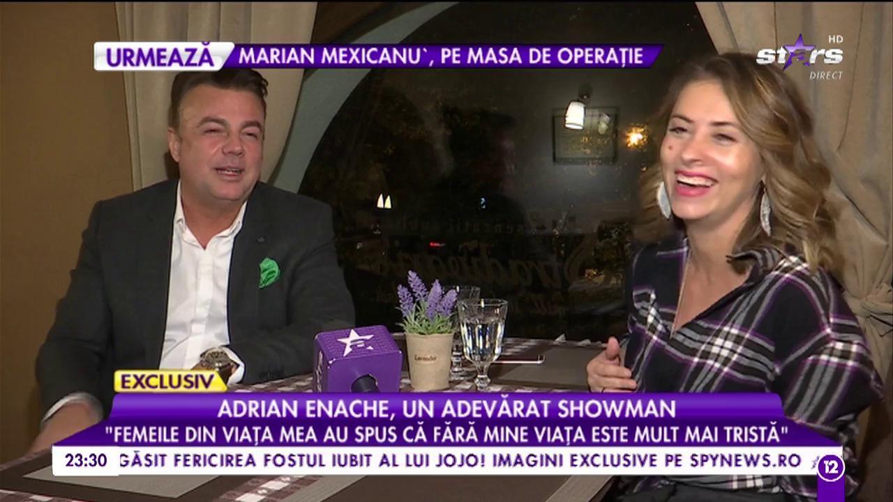 """Adrian Enache. un adevărat showman: """"Îmi doresc să fiu singur și caut singurătatea"""""""