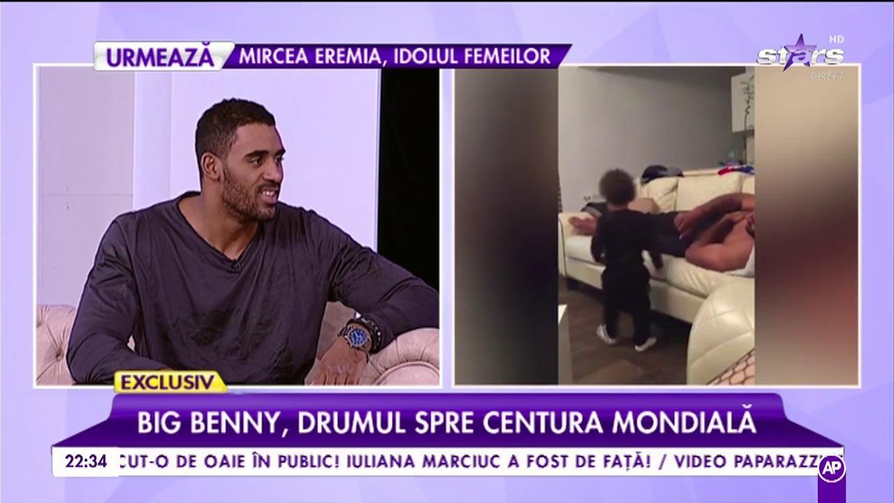 """Big Benny, drumul spre centura mondială: """"Sunt mândru că sunt român"""". Luptătorul a făcut senzație în K1"""