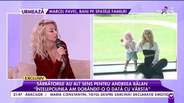 """Andreea Bălan recunoaște că a mers la terapeut: """"Acum îmi doresc lucruri umane"""""""