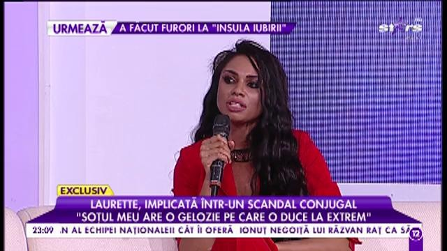 Laurette, implicată într-un nou scandal conjugal!