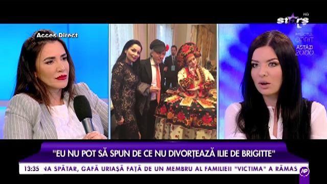 Scandal monstru în showbiz. Presupusa amantă a lui Ilie Năstase îi dă replică lui Brigitte