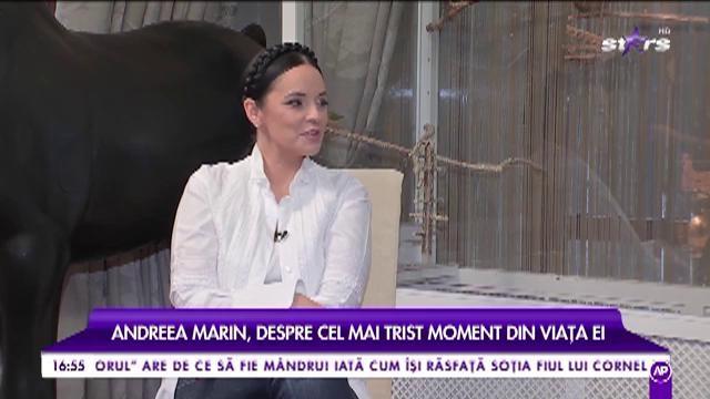 """Andreea Marin, despre cel mai trist moment din viața ei: """"Am pierdut-o într-un mod brutal: mama s-a stins în brațele mele"""""""