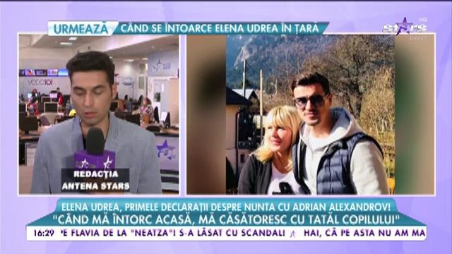 Elena Udrea Primele Declarații Despre Nunta Cu Adrian Alexandrov