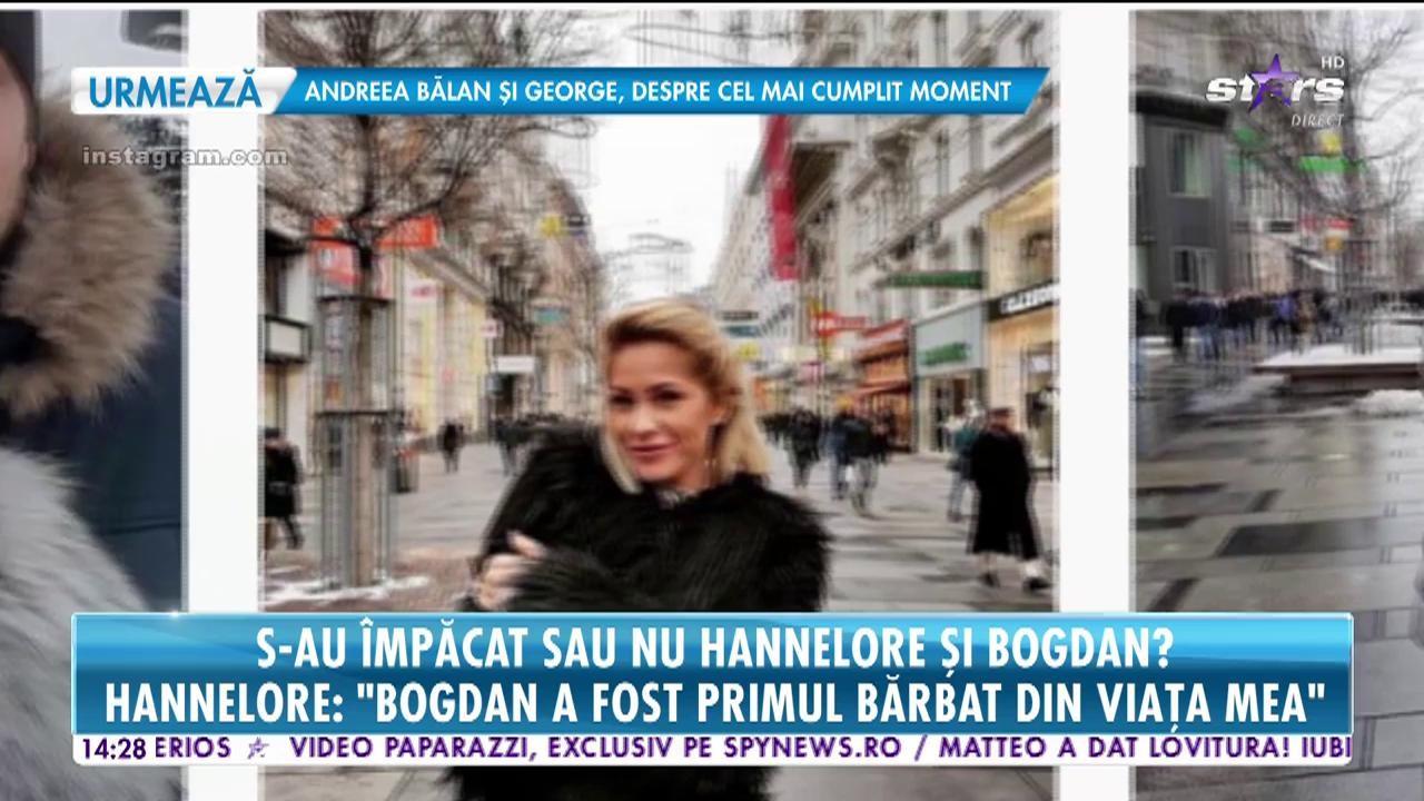 """Bombă la """"Insula Iubirii""""! S-au împăcat Hannelore și Bogdan? """"Da, ne-am întâlnit"""""""