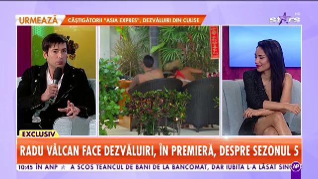 """Radu Vâlcan face dezvăluiri incendiare din noul sezon """"Insula iubirii"""": """"Cu Hannelore m-am antrenat pentru ce urmează!"""""""