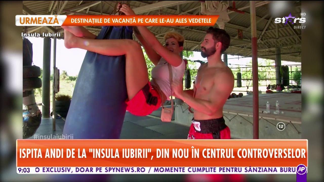 Andi de la Insula Iubirii, din nou în centrul controverselor! Două concurente se bat pentru inima ispitei!