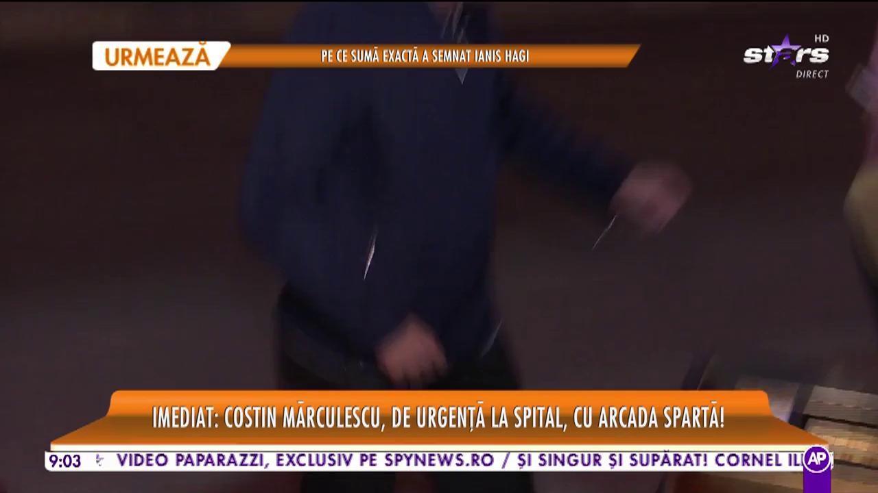 Promo - Costin Mărculescu a ajuns la spital de urgenţă