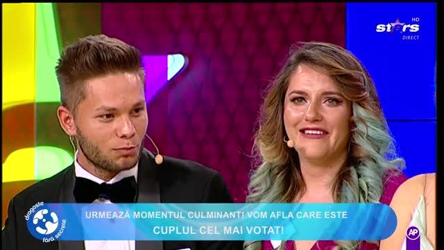 """Carmen şi Cătălin, marii câștigători de la """"Dragoste fără secrete"""""""