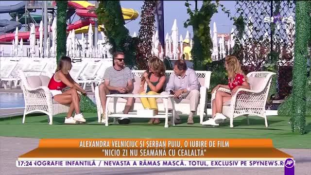 Star la mare fitză. Alexandra Velniciuc și Șerban Puiu, o iubire de film: Sutem de 20 de ani împreună, nu avem nici acte