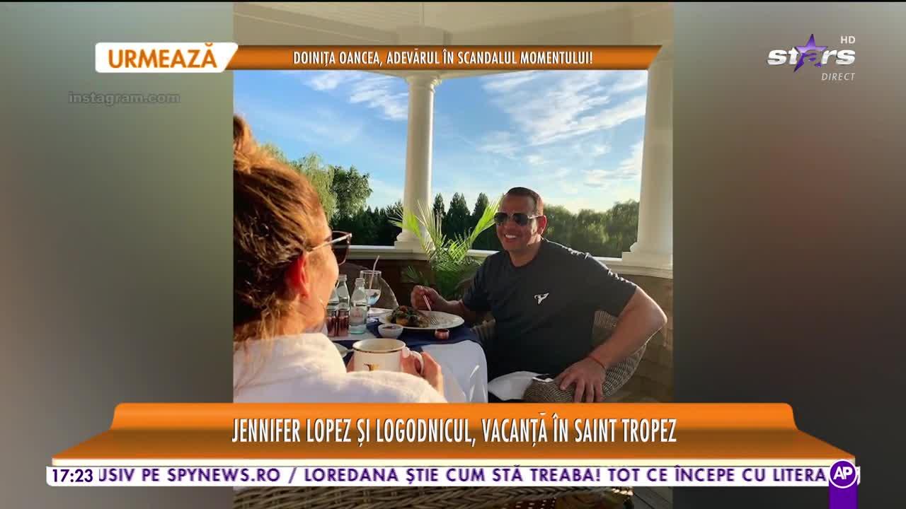 Star la mare fitză. Jennifer Lopez și logodnicul, vacanță de lux în Saint Tropez
