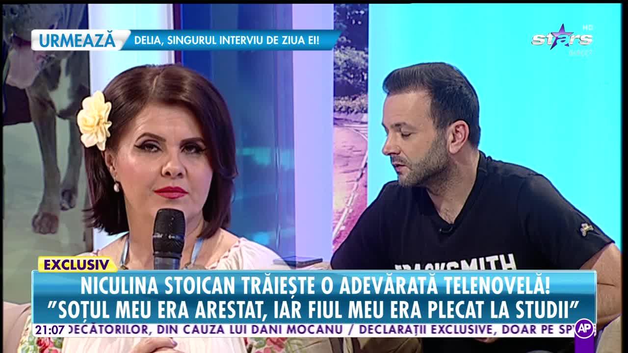 Niculina Stoican trăieşte o adevărată telenovelă! Viaţa a încercat-o dur pe artistă
