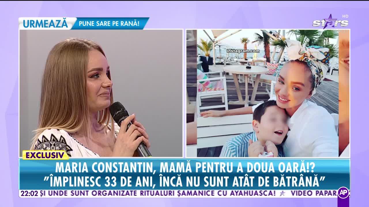 Maria Constantin, mamă pentru a doua oară?