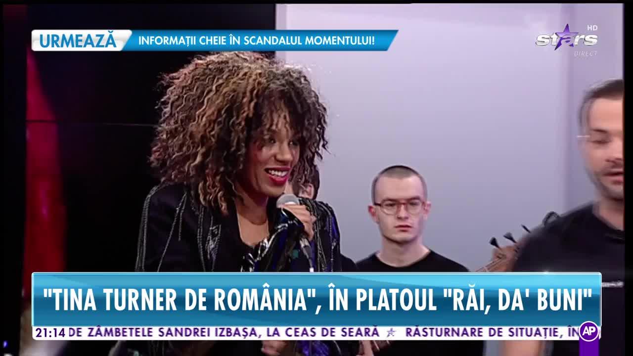 """Tina Turner de România, mai sinceră ca niciodată! """"Am suflet de moldoveancă"""""""