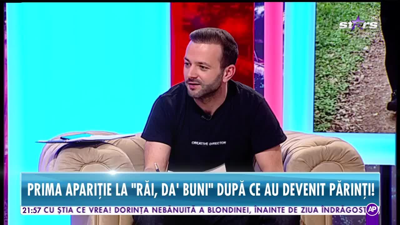 """Damian Drăghici şi Cristina, prima apariţie de când au devenit părinţi! """"E incredibil, mai ales că nu mi-am dorit copil toată viaţa"""""""