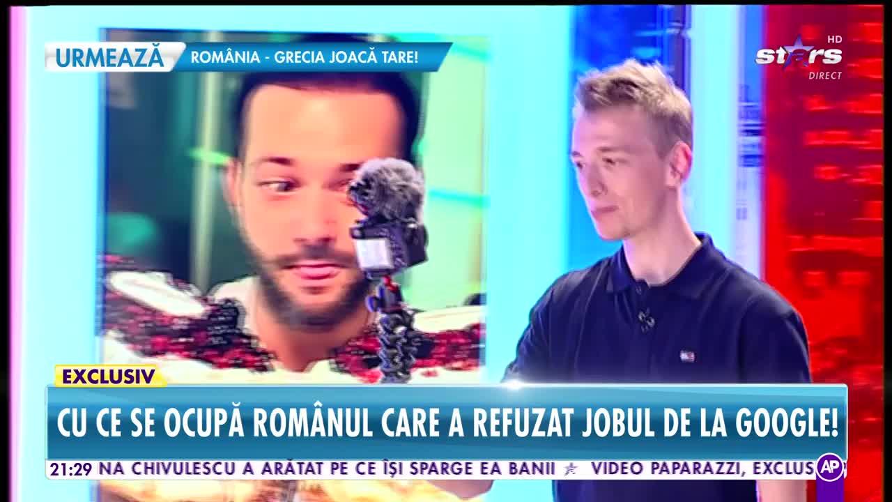 Cu ce se ocupă românul care a refuzat un job la Google!