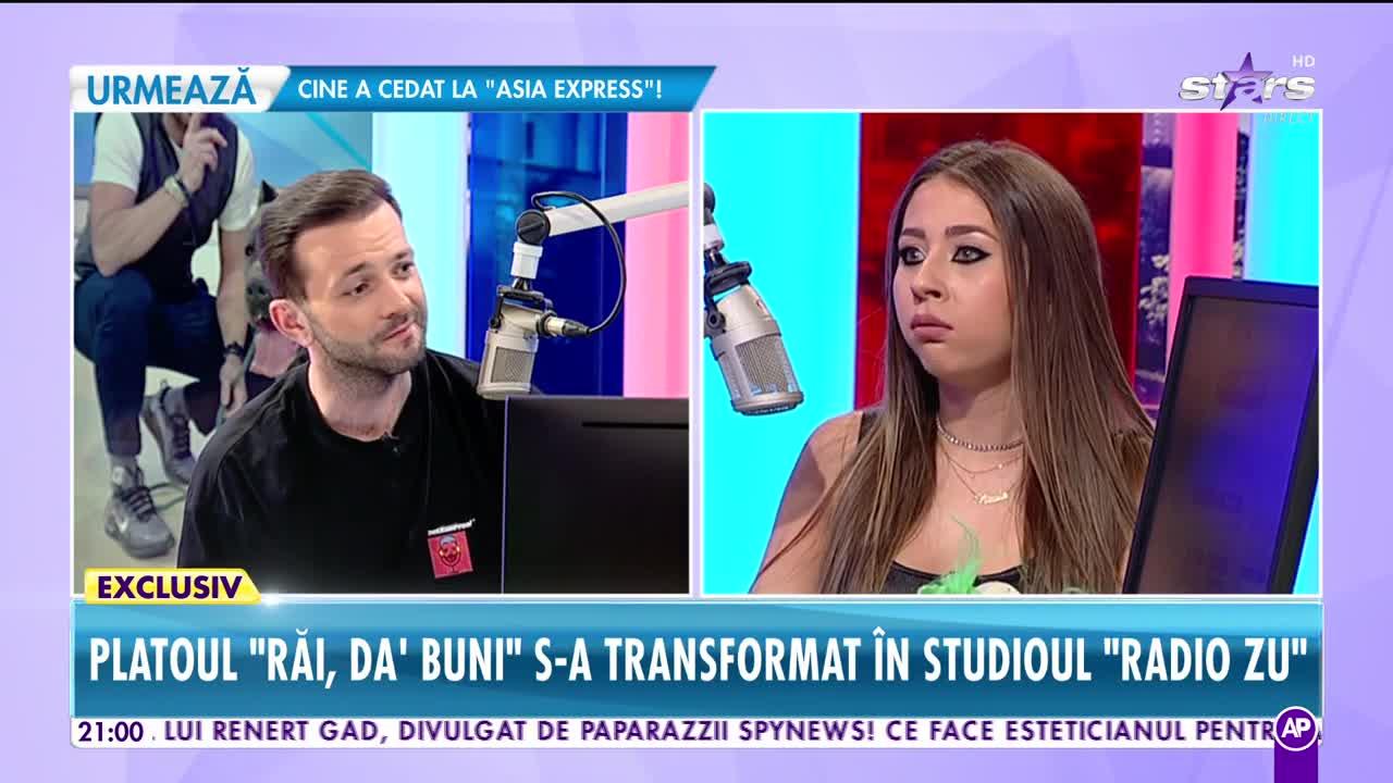 """Nicole Cherry, interviu inedit în studioul mobil """"Radio Zu"""": """"Vocea mea sună bine atunci când sufăr!"""""""