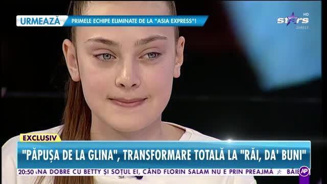 Păpuşa de la Glina, transformare totală la Răi da Buni. Dana Roba se ocupă de look-ul ei
