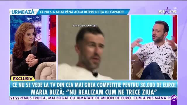 Răi da buni. Maria Buză, despre ce nu se vede la TV din Asia Express, cea mai grea competiție