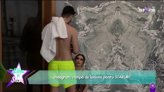 Like a Star. Larisa și Andrei, discuție în jacuzzi: Nu mai termini și tu cu glumele?