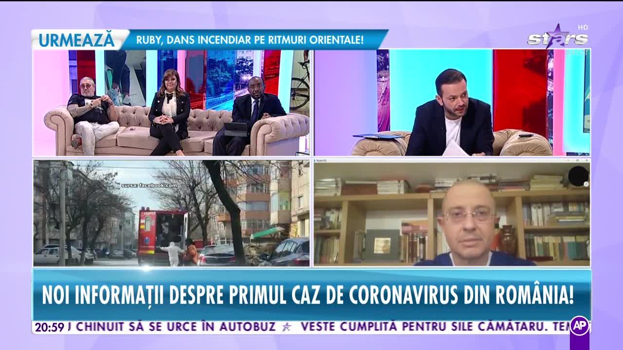 Noi informaţii despre primul caz de coronavirus din România! 99 de persoane se află deja în carantină!