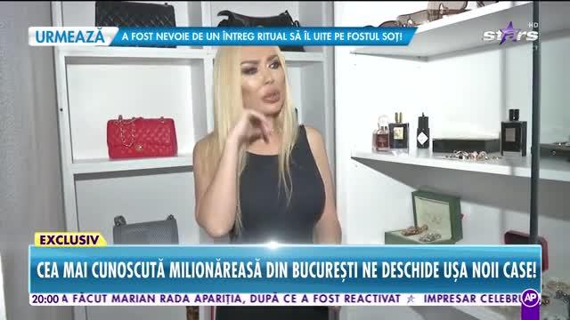Răi da Buni. Casa celei mai cunoscute milionărese din București: Patul costă 100 de milioane de lei vechi