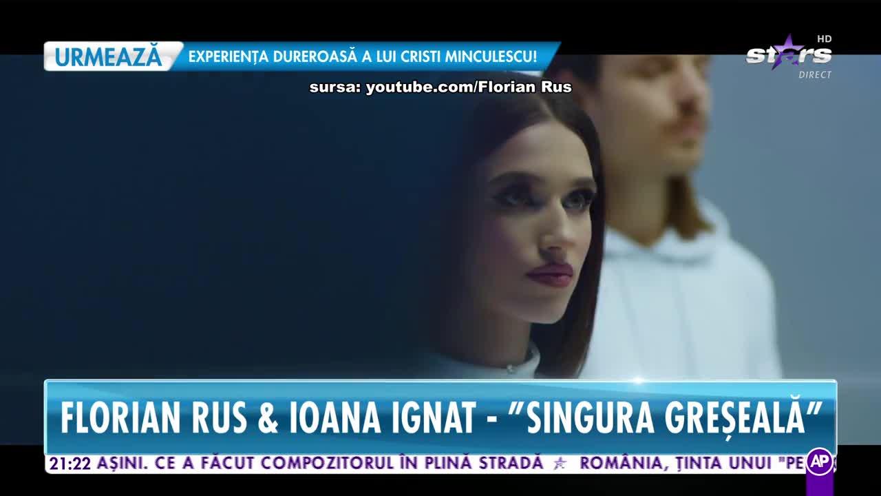 Răi da Buni. Florian Rus și Ioana Ignat cântă melodia Singura greșeală