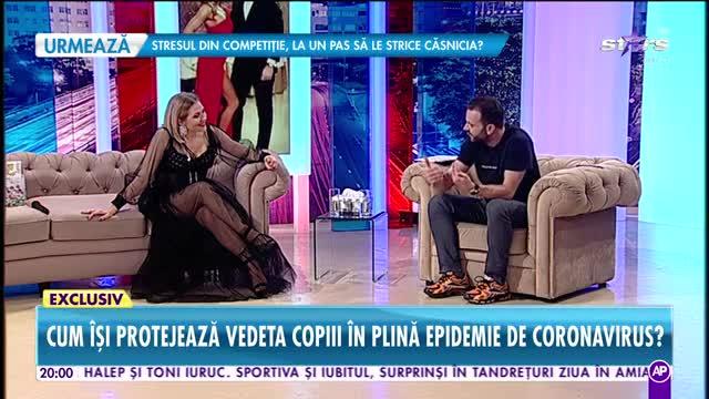 """Mirela Vaida, detalii din culisele telenovelei """"Vulpiţa şi Viorel"""": """"Eu i-aş lua studiu de caz la Facultatea de teatru"""""""