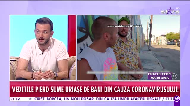 """Vedetele pierd bani din cauza coronavirusului! Bromania: """"Am avut şansa timp de trei săptămâni să arătăm cât de bun e filmul """"Miami Bici"""""""