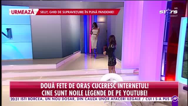 Două fete de oraş cuceresc internetul! Cine sunt noile legende de pe youtube!