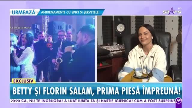 Betty şi Florin Salam, prima piesă împreună. Singurele informaţii despre colaborarea anului
