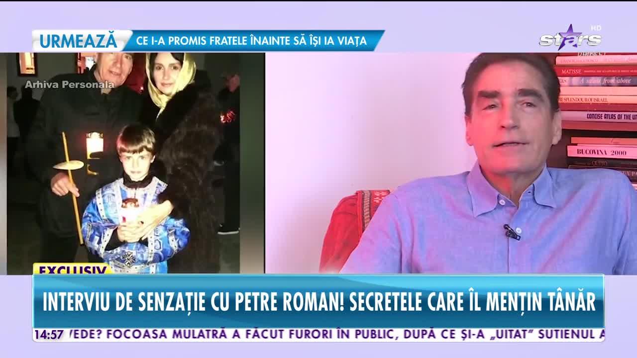 Interviu de senzație cu Petre Roman! Secretele care îl mențin tânăr