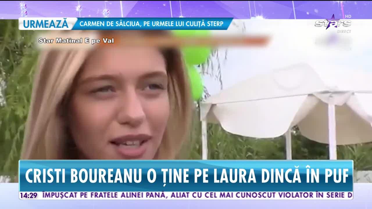 Cristi Boureanu şi Laura Dincă, vacanță romantică
