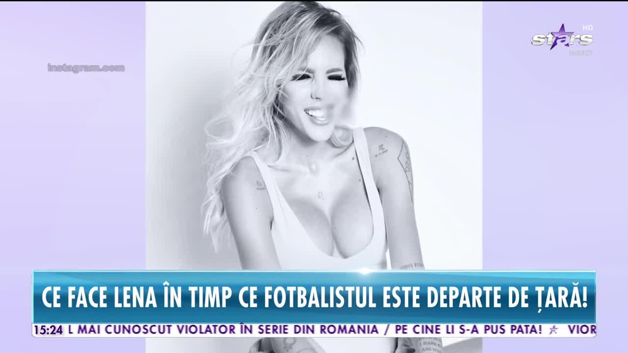 Secretul soţiei lui Gabi Enache. Filmări cu sexy Lena