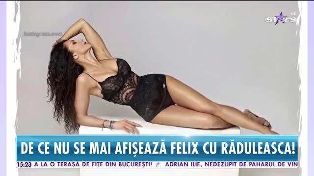 De ce nu se mai afișează Felix cu Mihaela Rădulescu!
