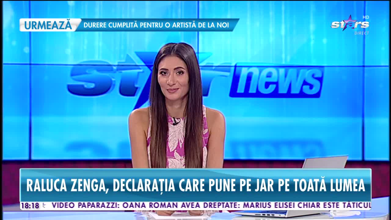 Raluca Zenga, o nouă mărturisire despre zvonul că divorțează