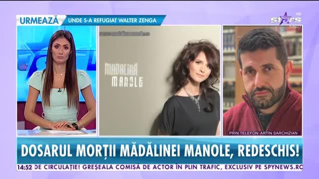 Dosarul morţii Mădălinei Manole, redeschis